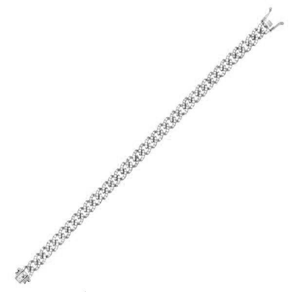 Thin Chain Link Bracelet Silver - Adina's Jewels
