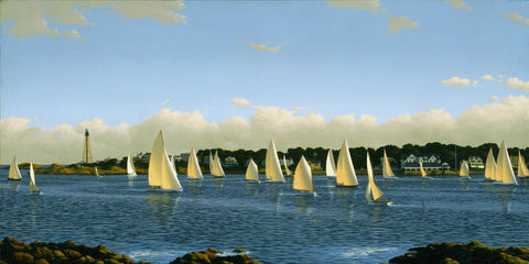 """Marblehead Harbor Sail"""