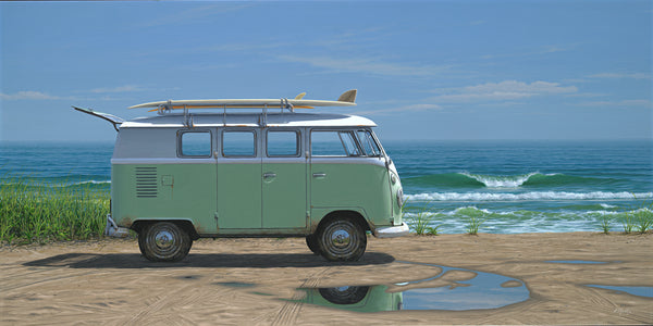 """Beach Bus"" on paper"