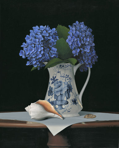 """Pitcher of Hydrangeas"""