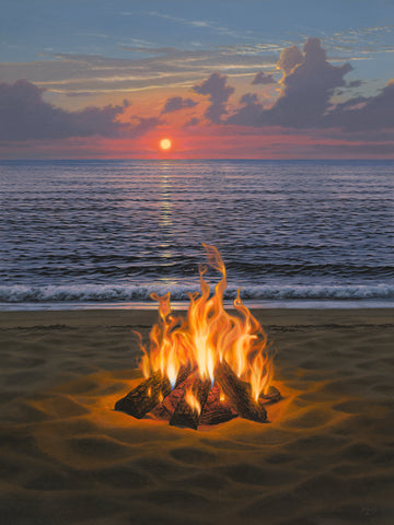 """Beach Bonfire"""