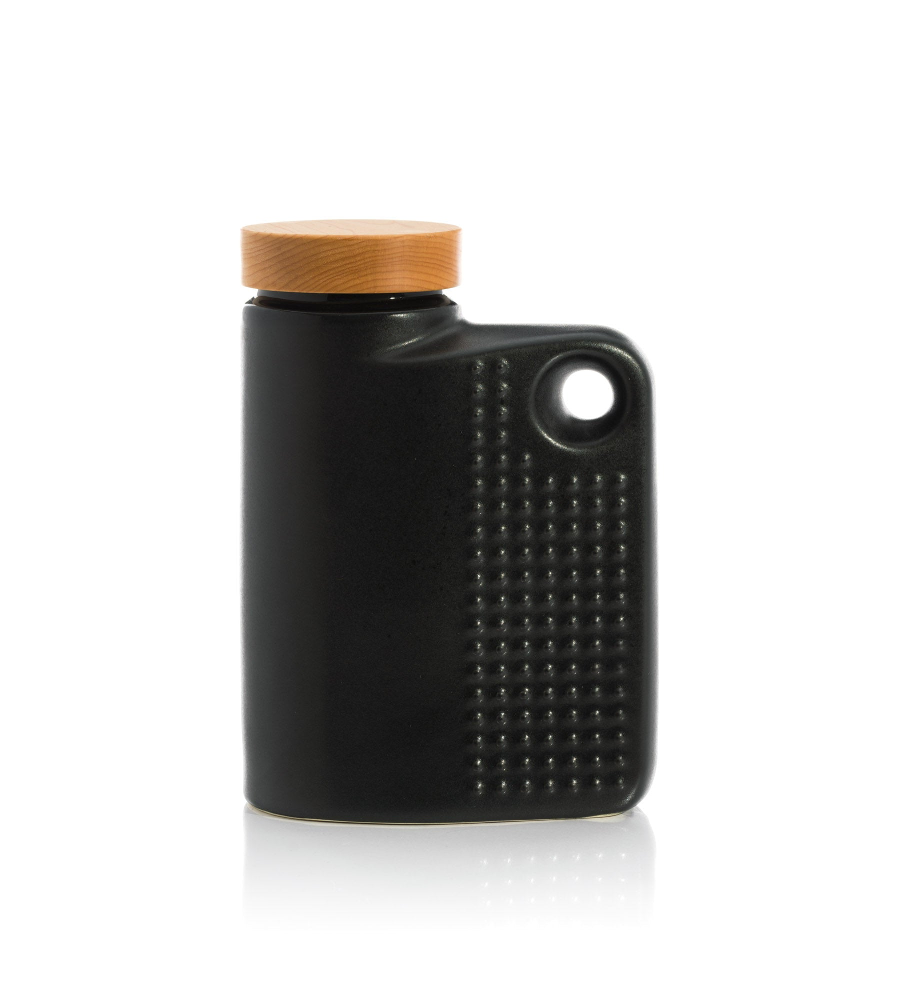 64oz Canister - Satin Black