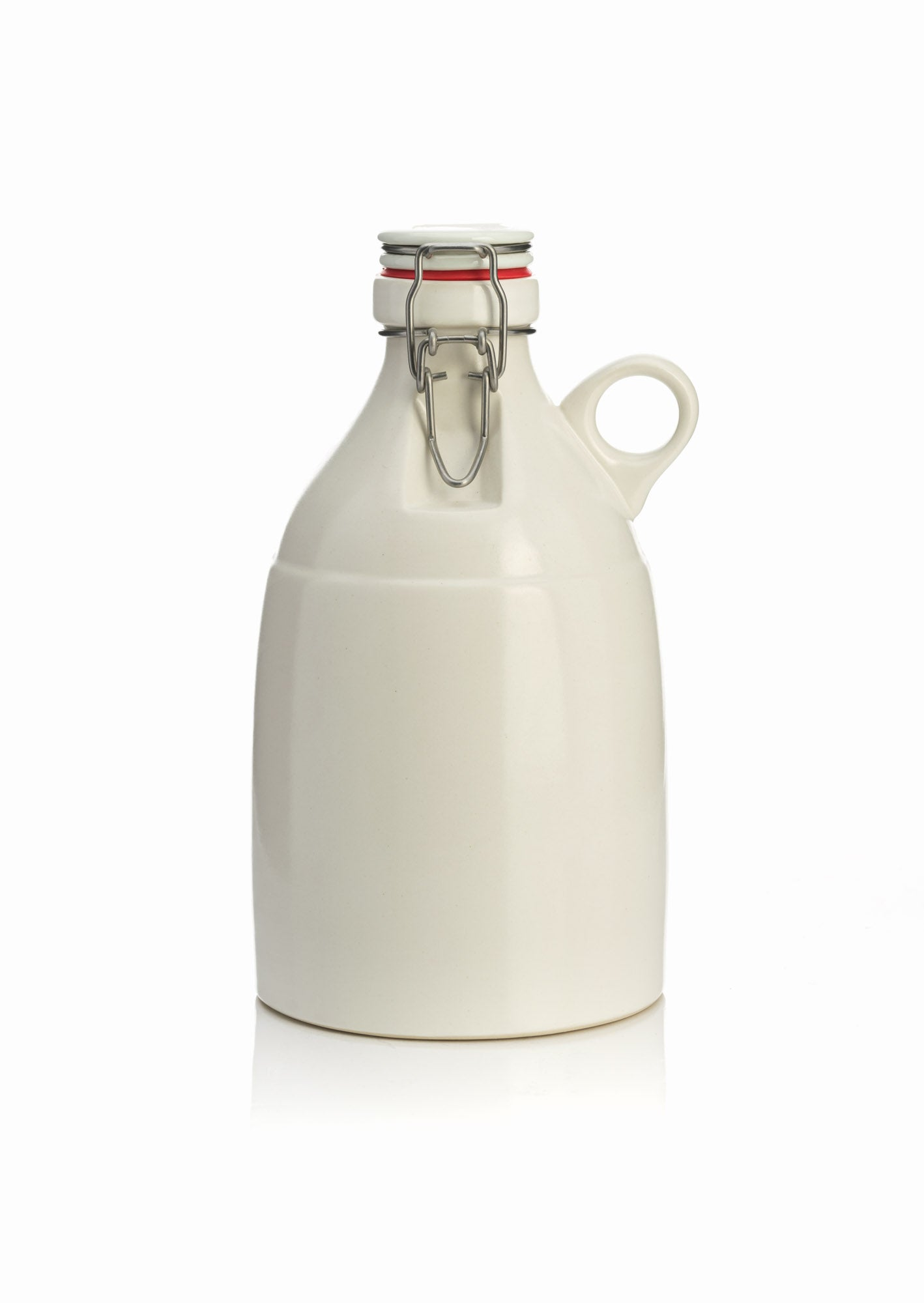 64oz Growler - Matte White