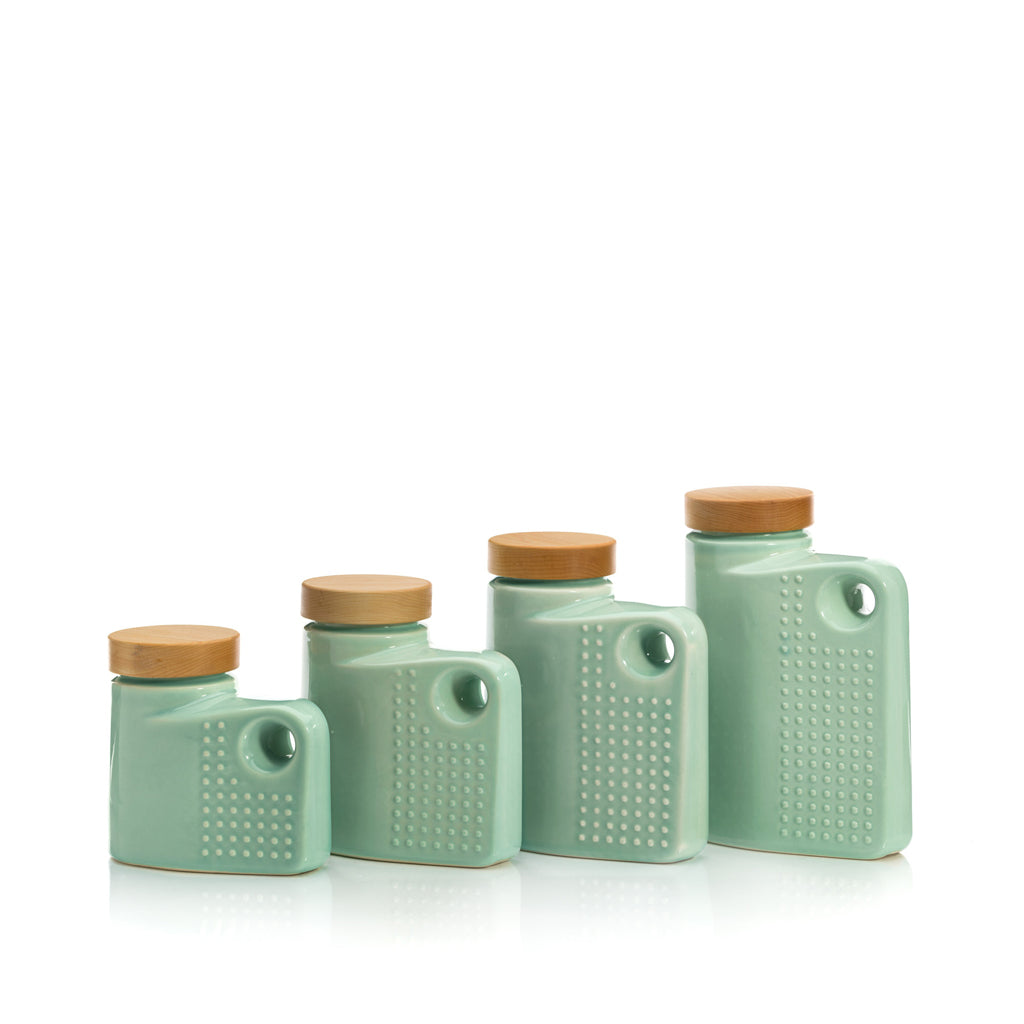 Irvington Set - Gloss Celadon