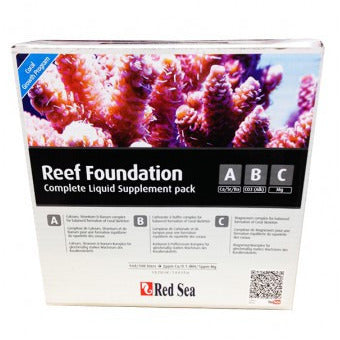 Red Sea Reef Foundation Pack ABC+