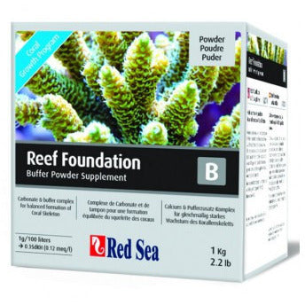 Reef Foundation B Buffer Powder Supplement 1Kg