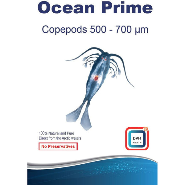 Ocean Prime Copepods 500-700 micron & 2mm