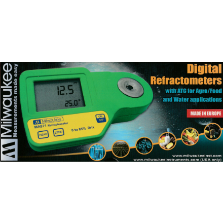Milwaukee Digital Saltwater Refractometer