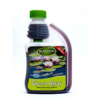 green water pond treatment