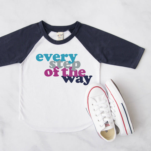 Every step of the way - Olivia Threads of Heart KIDS Tee