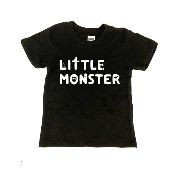 {6m} Halloween Little Monster Tee