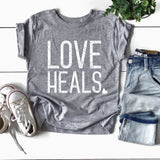 Love Heals - Rowen Threads of Heart Tee