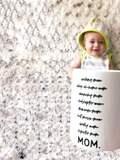 Motherhood MOM. Mug