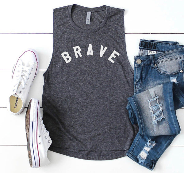 Brave - muscle tank