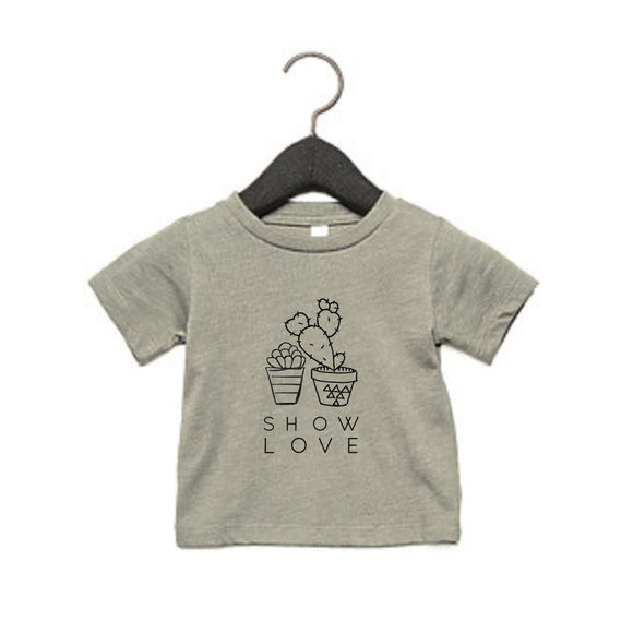 Show Love Kids Tee - Lucky Linkyn Threads of Heart Tee
