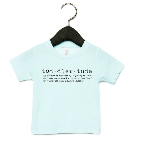Toddlertude White Tee