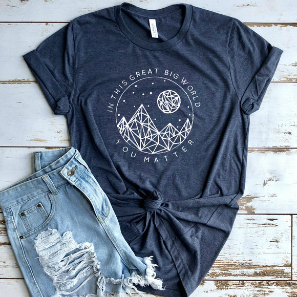 You Matter - Caleigh Threads of Heart Tee