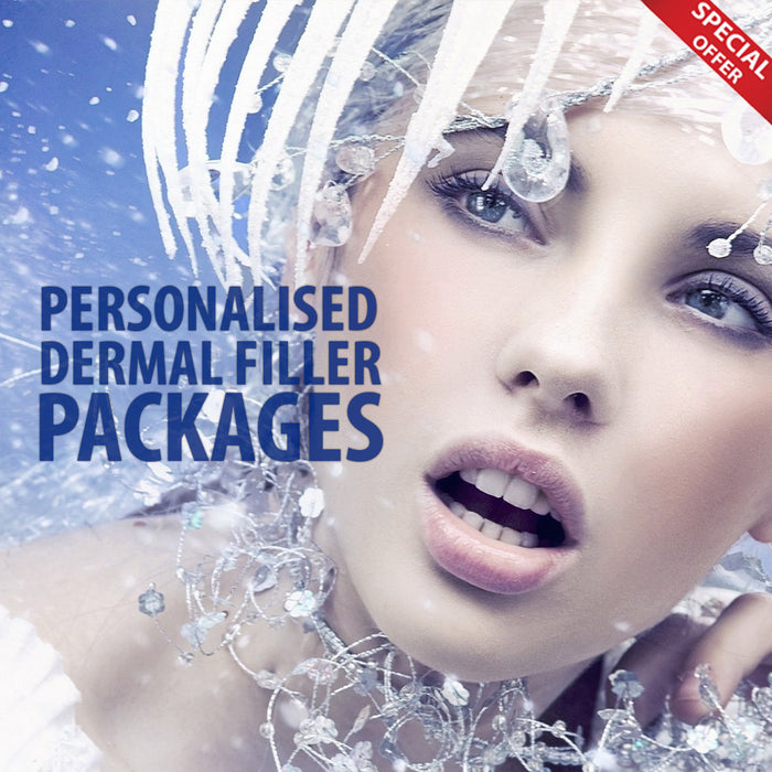Christmas Offers- Personalised Dermal Filler Packages £380.00