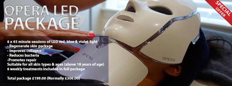 Christmas Offers Opera Led Facial - Course of 6 Treatments - ISLE OF MAN ONLY