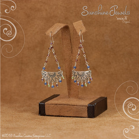 Dancing Sunray Earrings