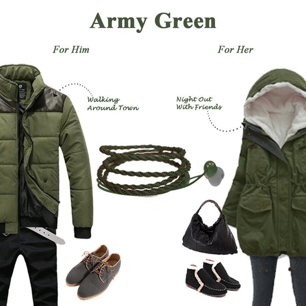 Military Green Twistwrap