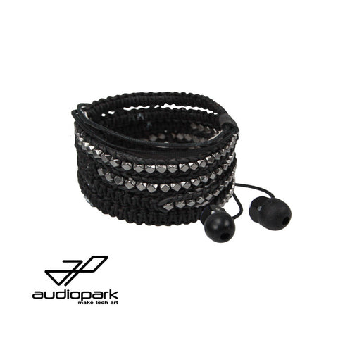 Black Chrome Audiowrap