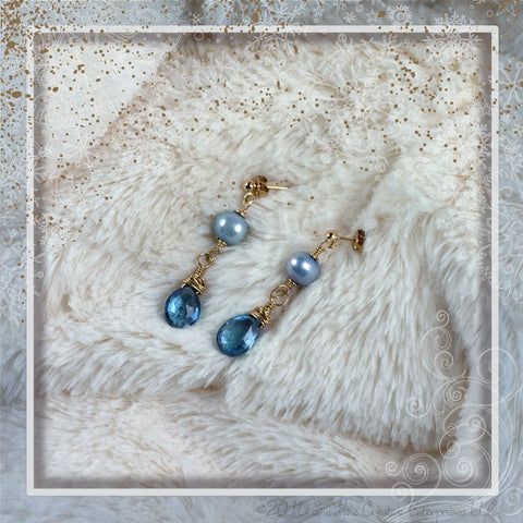 Holiday Blues Earrings
