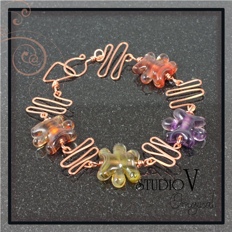 Electric Autumn Bracelet