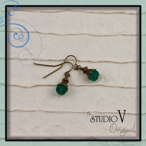 Glorious Greens Earrings