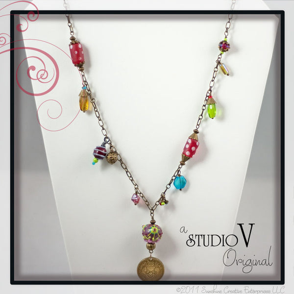 Clowning Around Necklace