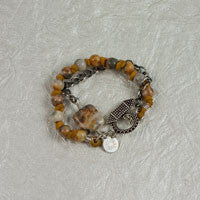 On Golden Pond Bracelet