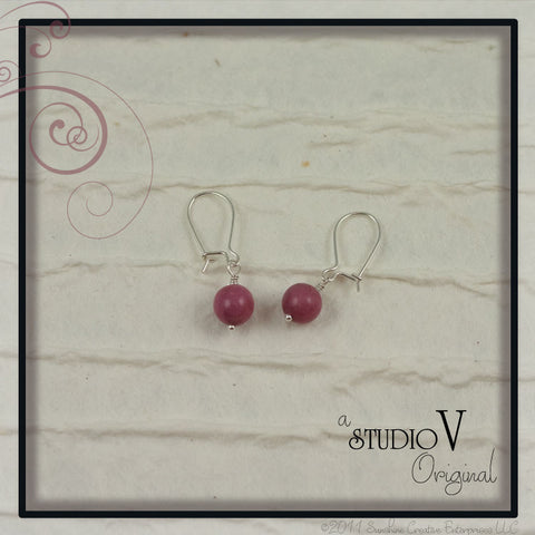 Passionate Pink Earrings