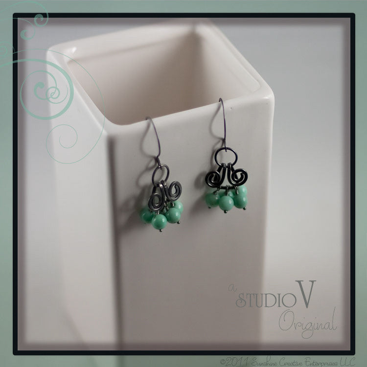 Mint Julep Earrings