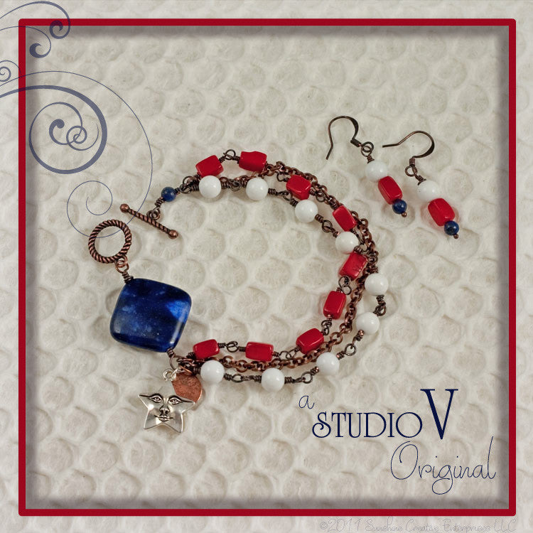 Star and Stripes Bracelet