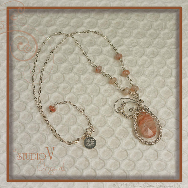 Soothing Sunstone Necklace