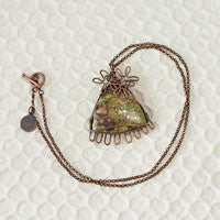 Patina'd Posies Necklace