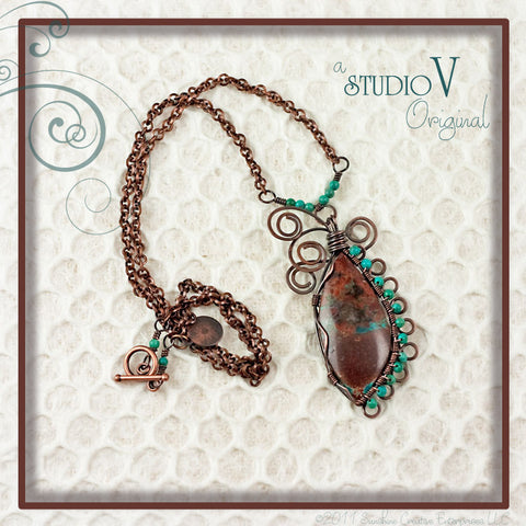 Southwest Swirls Necklace