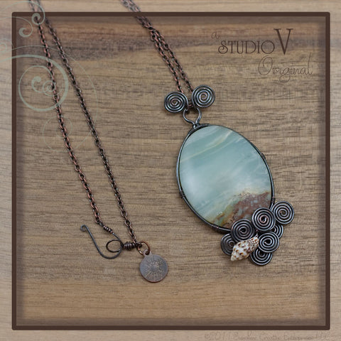 Beyond the Porthole Necklace