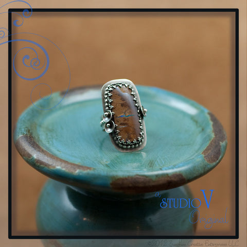 Koroit Opal Lace Ring