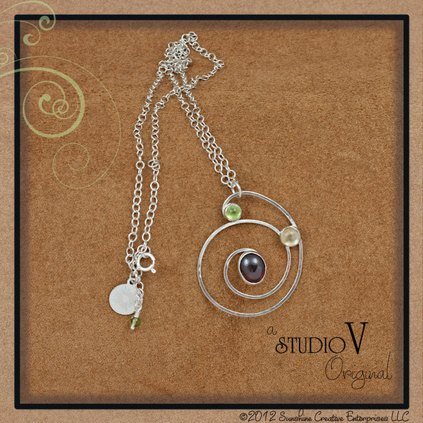 Drew Sunshine Swirl Necklace