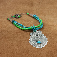 Entangled Paisley Necklace