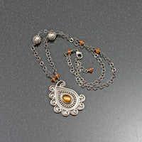 Sunshine Paisley Necklace