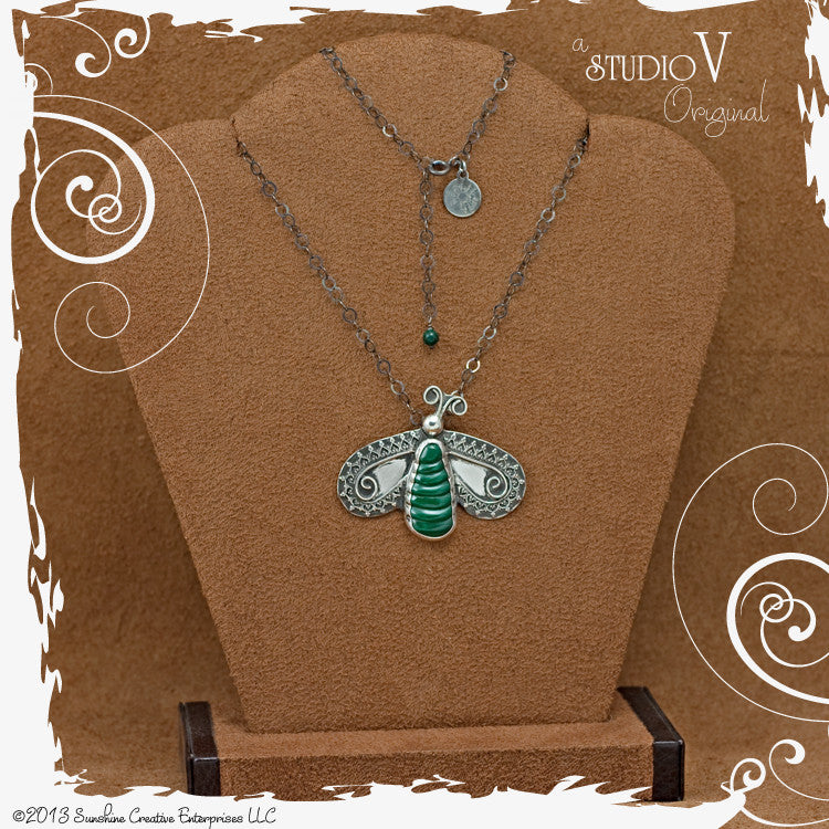 Whats All the Buzz Necklace