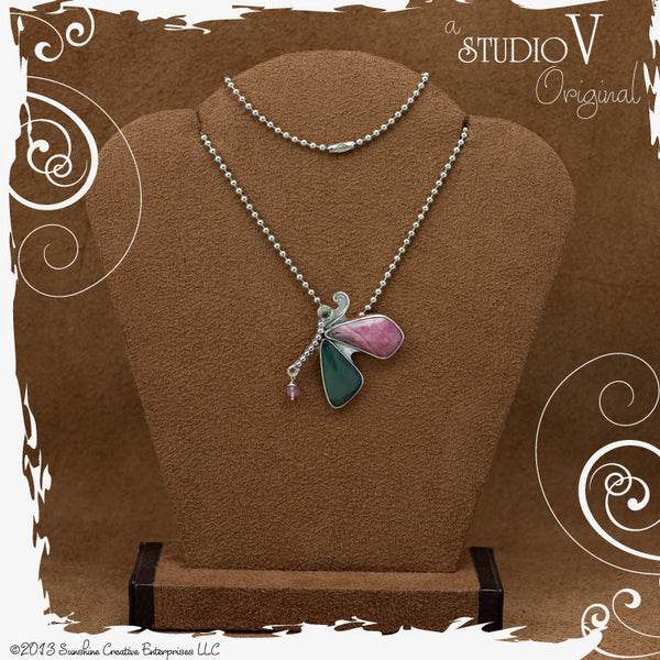 On Wings Necklace