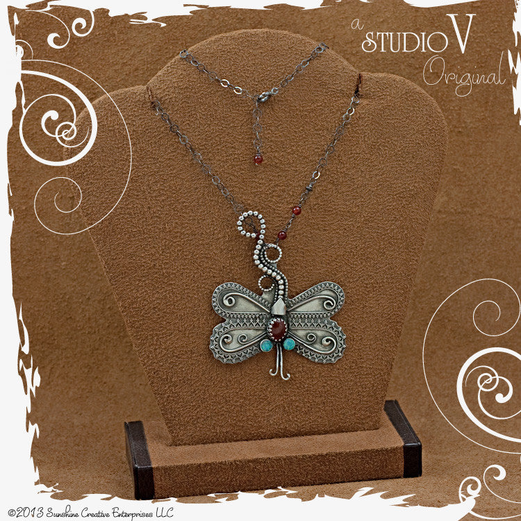 Damselfly Dreams Necklace