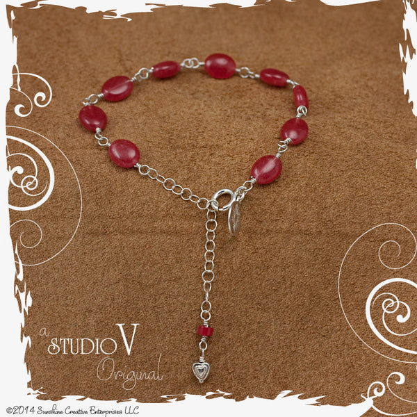 Sweet Little Rubellite Bracelet