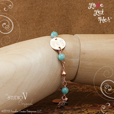 LLH Amazonite Power Bracelet