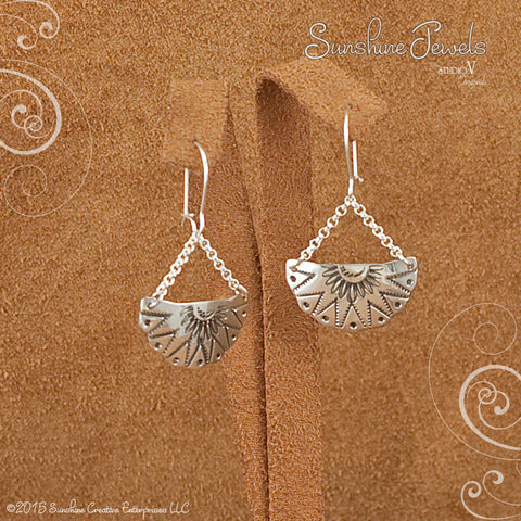Sunray Earrings