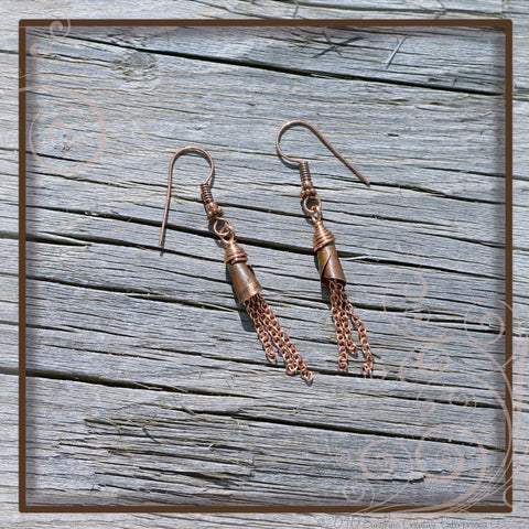 Copper Blessings I Earrings