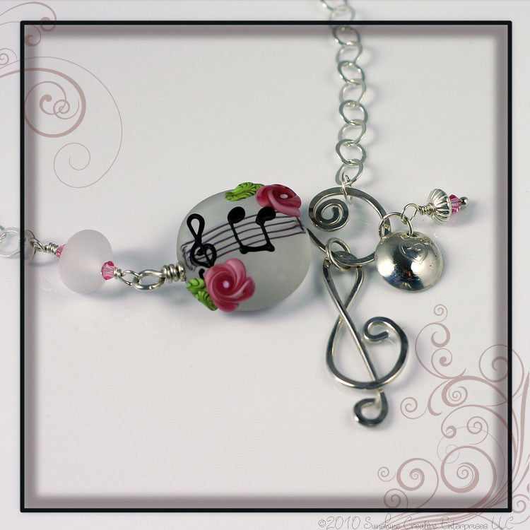 Oh For the Love of Music Necklace